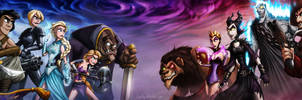 Disney Death Battle - Part 1 by JoshNg