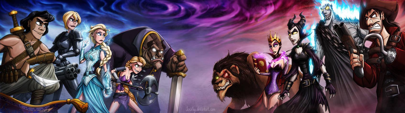 Disney Death Battle - Part 1