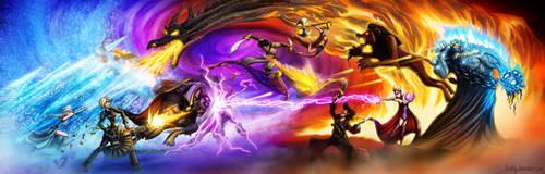 Disney Death Battle - Part 2 by JoshNg