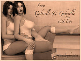 From Gabrielle and Gabrielle with Love by Cazgra