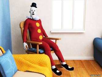 The Clown by Cazgra