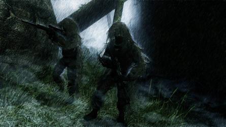 Ghillies in The Mist by Pachyrhinosaurus