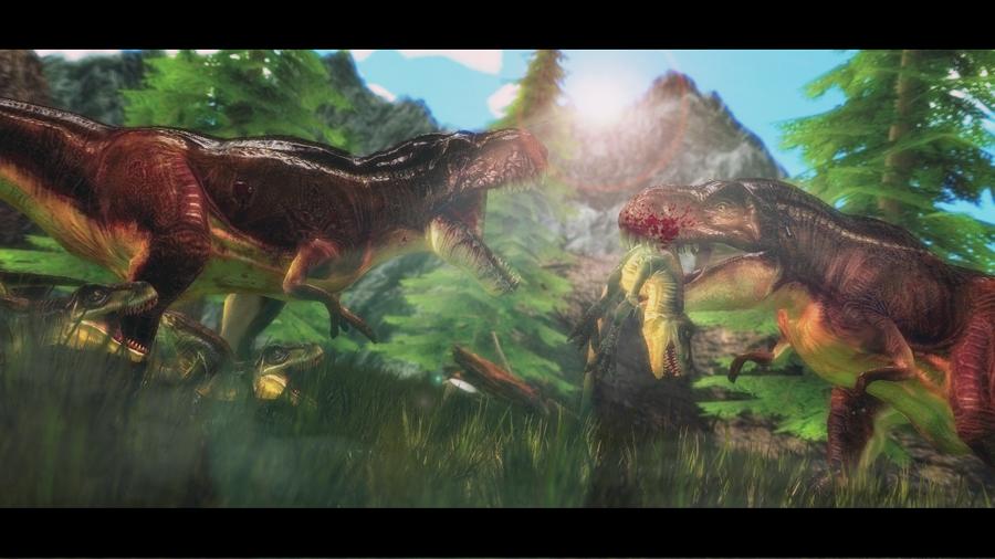 pachyrhinosaurus vs carnotaurus -#main