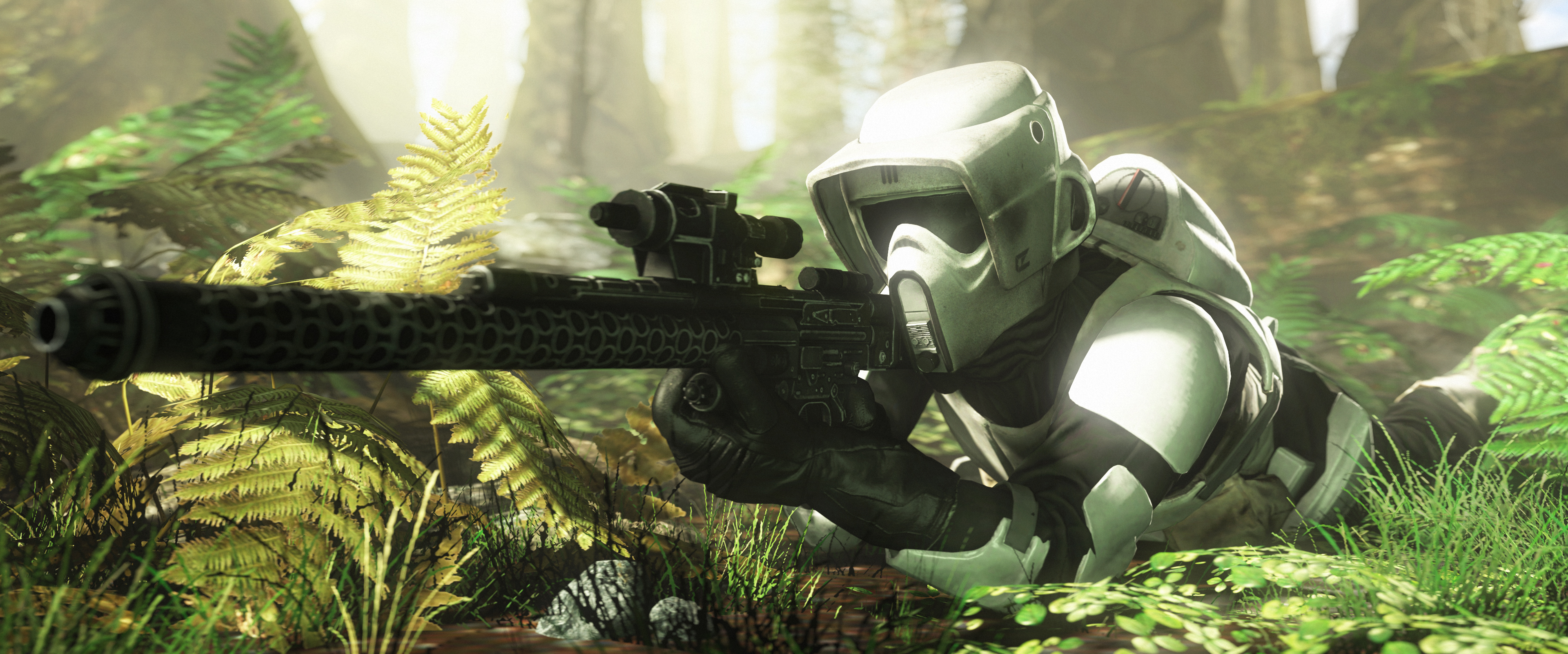 Scout Trooper by Pachy... Rhino Wars