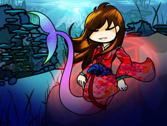 Walfas Edit - Manami in the Deep Blue Sea by Hazama-Yuutou