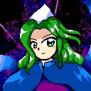 PC98 Portrait - Evil Spirit Mima by Sydney-chan101