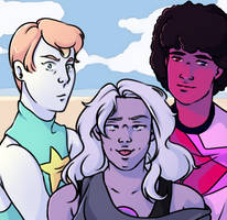 We Are The Crystal Gems by nacarocali