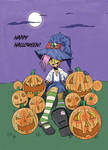 halloween anime character