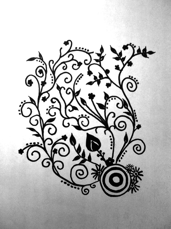 Sharpie Tattoo By Earth2olivia