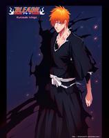 Bleach 444 'Rising' - Ichigo by SilverCore94