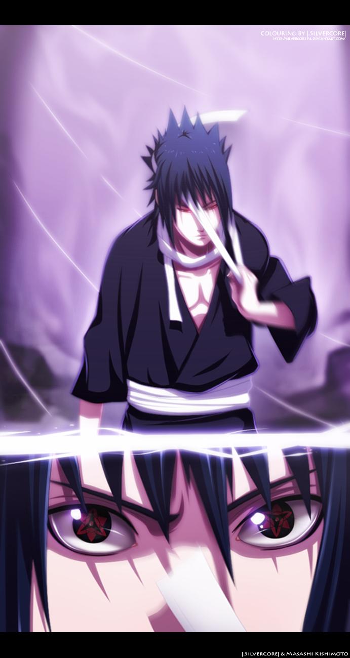 Naruto 553 - Change eyes by SilverCore94