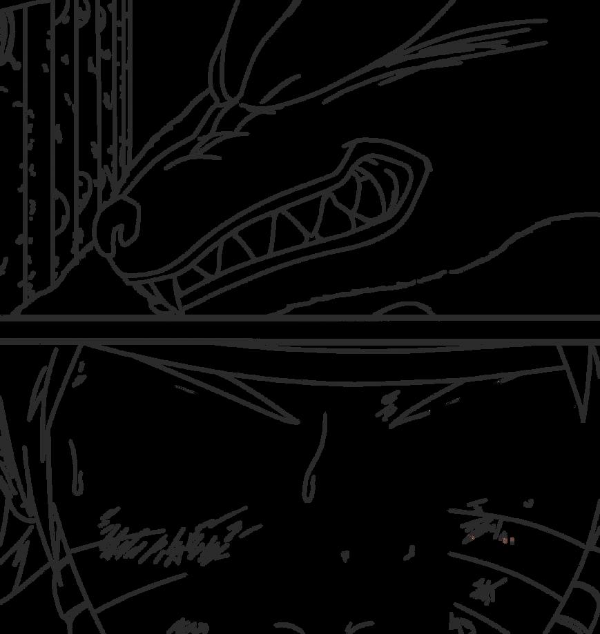 Naruto 570 lineart by SilverCore94