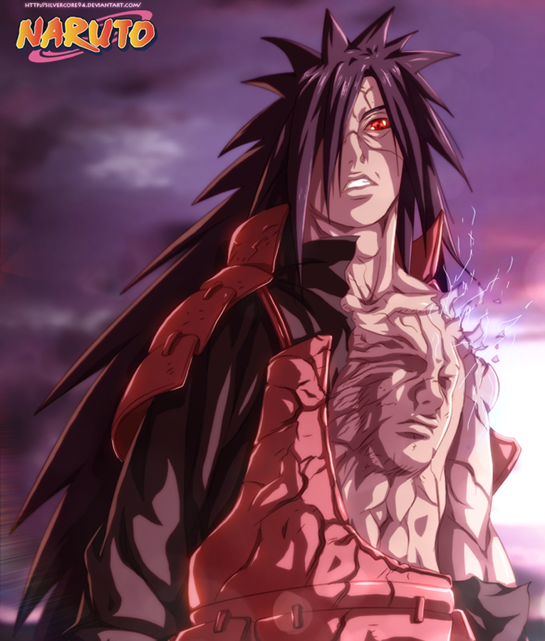 Naruto 575 Uchiha Madara by SilverCore94