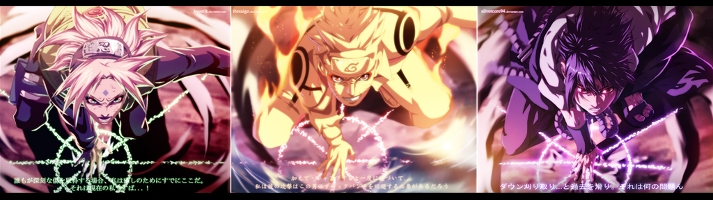 Naruto 633 Let's GO! Collab by SilverCore94