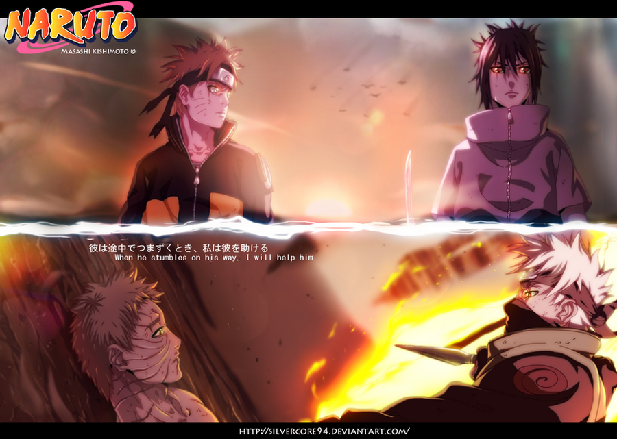 Naruto 655 - Two Generations by SilverCore94