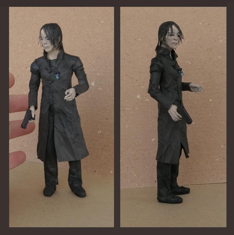 Amon figurine by nan-says