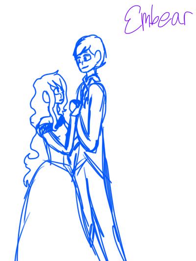 Dance Sketch by The-Embear-Yay