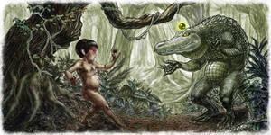 Meeting the sorcerer alligator