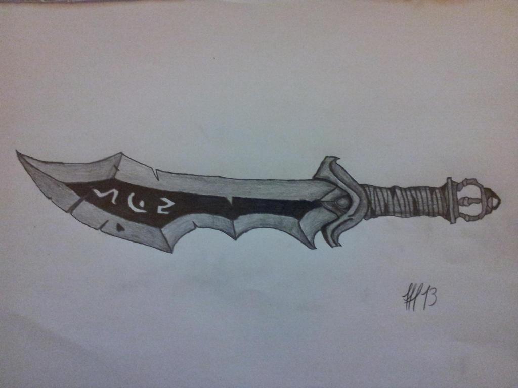 World of Warcraft death Knigth sword 3 by FFF13