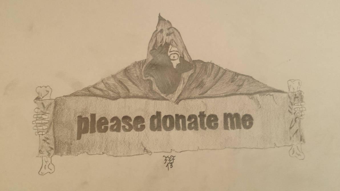 please donate me