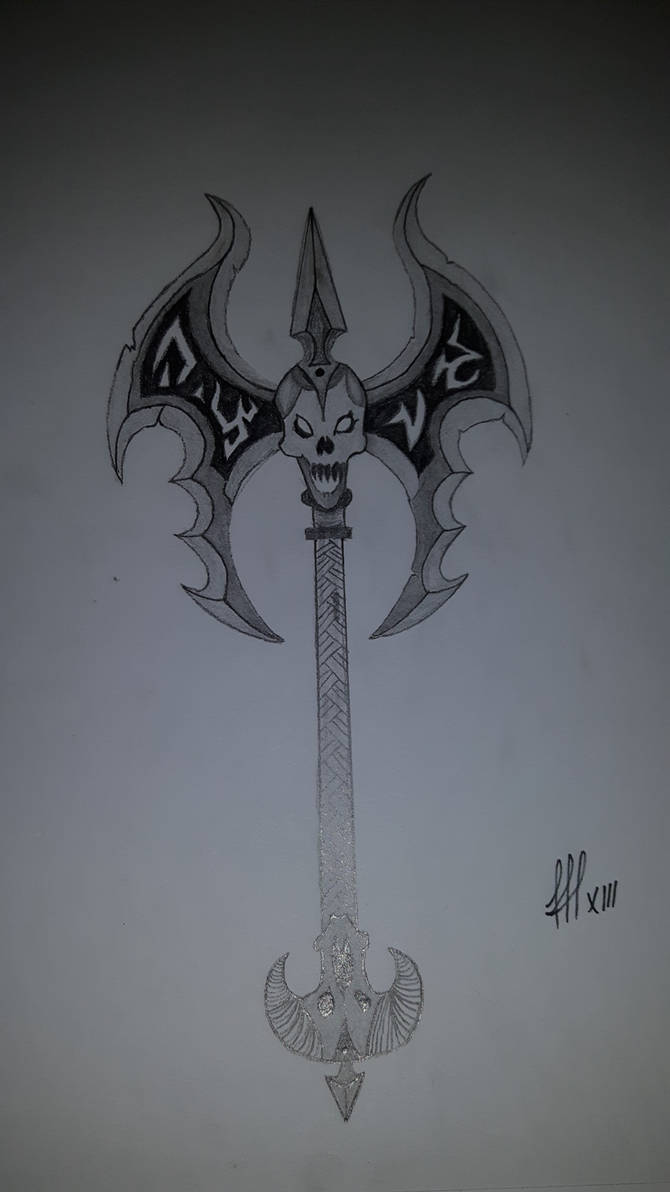 weapon from wow dont remamber the name