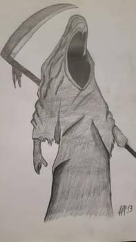 death  old stuff drawing