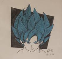 Goku SSJGSSJ SSJBLUE blue goku :D