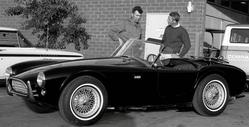 Steve McQueen and Carroll Shelby [1]