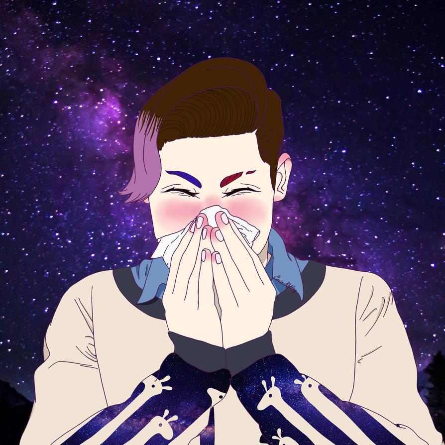 Ethan Sneezing (Gift) by AKAOSHIRI