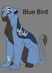 Blue Bird [open breedable] by shadowmoon738