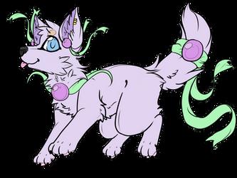 Pastel pearl dog adopt [closed] by shadowmoon738