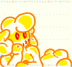 Cute Gold Swapdoodle by AAC013