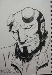 Hellboy by EpicBenjaminJ