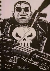 The Punisher by EpicBenjaminJ