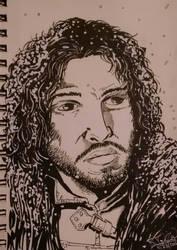 Jon Snow by EpicBenjaminJ