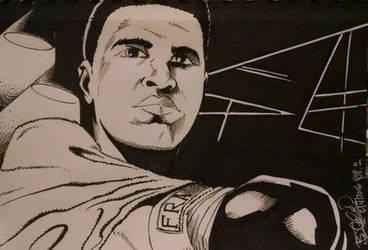 Muhammad Ali by EpicBenjaminJ