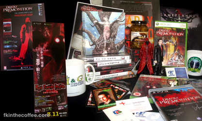 My Deadly Premonition Collection as of Oct 2014
