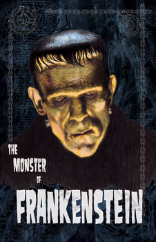 Frankenstein color portrait