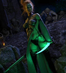 Elven Goblin Hunter