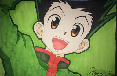 Gon Hunter X Hunter by Mailee0321Vang