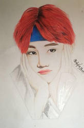 Kim Taehyung ( V )  by Mailee0321Vang