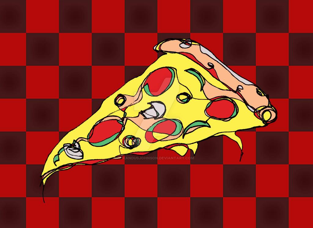 Pizza Slice by KandusJohnson