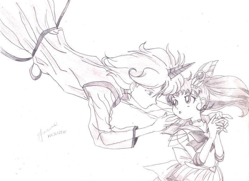 rini y heliot Helios_and_Chibimoon_by_fmacedo