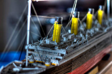 Titanic Model HDR by mcsnot