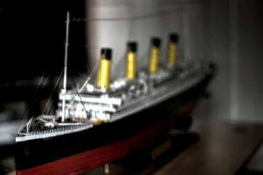 Titanic model by mcsnot