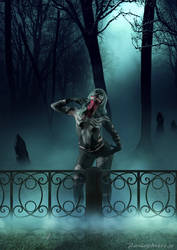 Venom in the cemetery by mcsnot