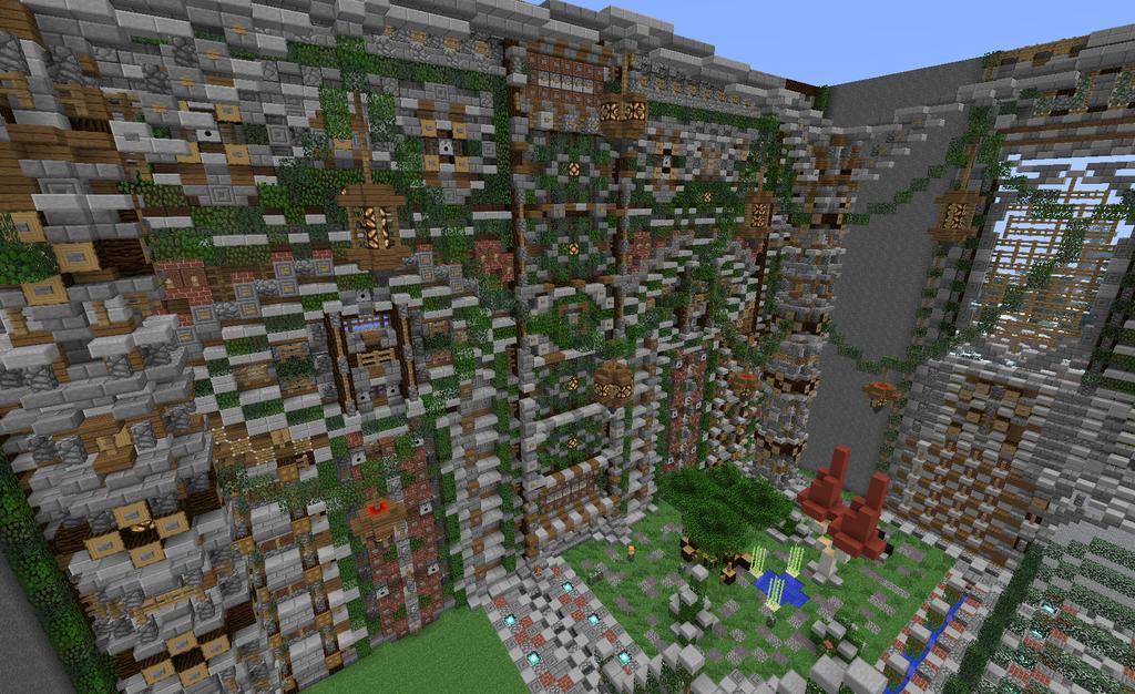 Spawn Minecraft Interieur by Dewel114 on DeviantArt