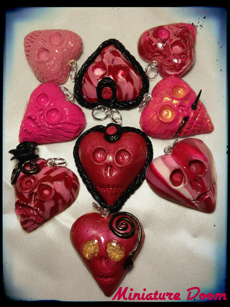 Valentines  Hearts by Ooh-A-piece-of-Candy