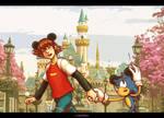 To the Disneyland!