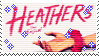 heathers the musical stamp